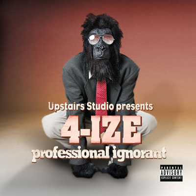 4-IZE - Professional Ignorant Cover
