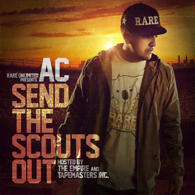 Send the Scouts Out Front Cover