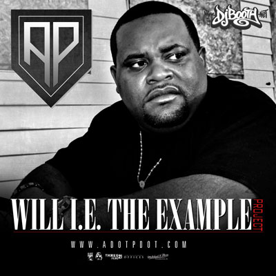 A.P. aka Adotpdot - Will I.E. (The Example) Album Cover