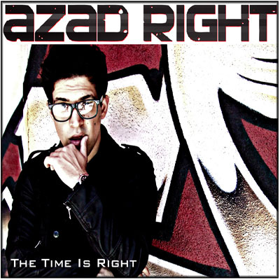 Azad Right - The Time Is Right Cover