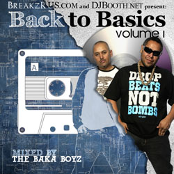 Back to Basics Vol 1 - Baka Boyz Cover