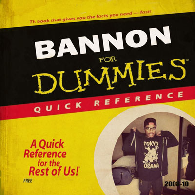 Bannon for Dummies Front Cover