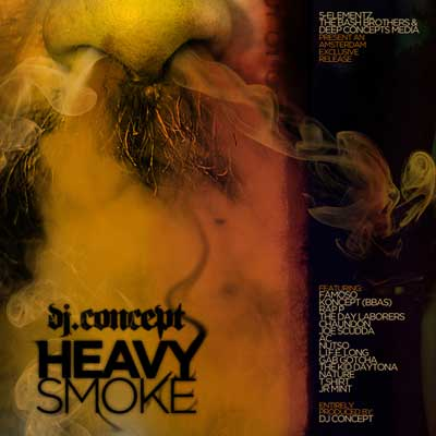 DJ Concept - Heavy Smoke Cover