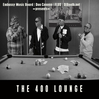 Embassy Music Board - The 400 Lounge Cover