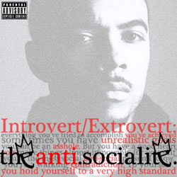 The Anti-Socialite Front Cover