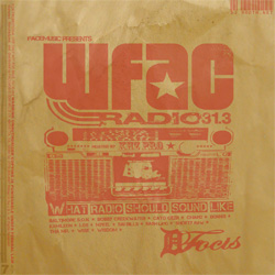 WFAC Facemusic Radio Front Cover
