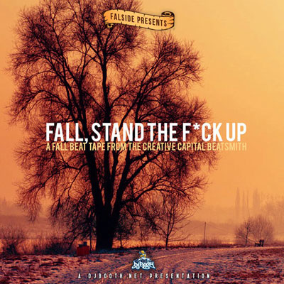 Falside - Fall, Stand the F**k Up Cover