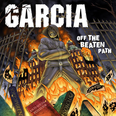 GARCIA - Off the Beaten Path EP Album Cover