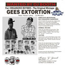 Gees Extortion - Organized Rhymes: The Original Mixtape Cover