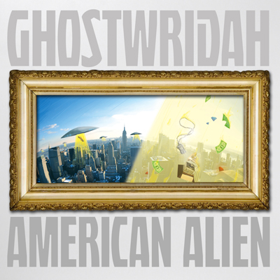 GhostWridah - American Alien Cover