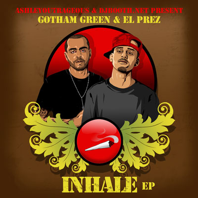 Gotham Green & El Prez - Inhale EP Cover