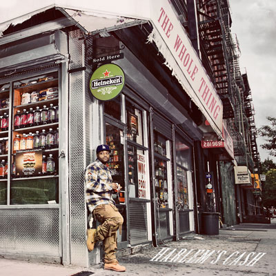 Harlem's Cash - The Whole Thing EP Album Cover