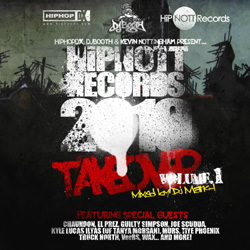 HiPNOTT Records 2010 Takeover, Volume 1 Front Cover