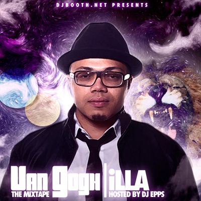 iLLA - Van Gogh (The Mixtape) Cover
