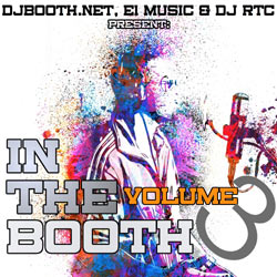 In The Booth Volume 3 Front Cover