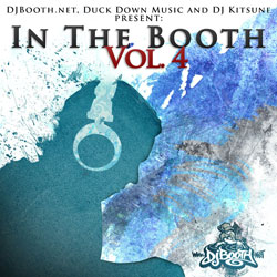 DJBooth.net x Duck Down x DJ Kitsune Present: In The Booth (Vol. 4) Cover