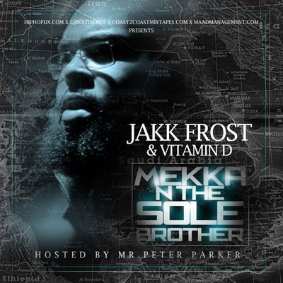 Jakk Frost - Mekka N The Sole Brother Album Cover