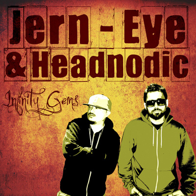 Jern Eye & Headnodic  - Infinity Gems EP Cover