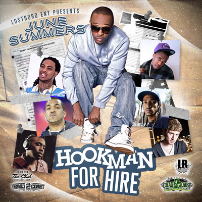 June Summers - Hookman for Hire Cover