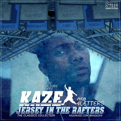 KAZE - Jersey in the Rafters Cover