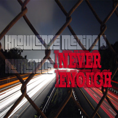 Never Enough EP Front Cover