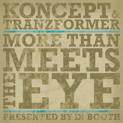 Koncept x Tranzformer- More Than Meets the Eye Cover