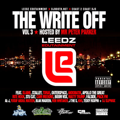 Leedz Edutainment Presents: The Write Off Vol. 3 Cover