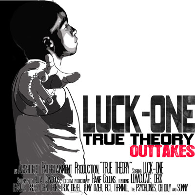 Luck-One - True Theory Outtakes Cover
