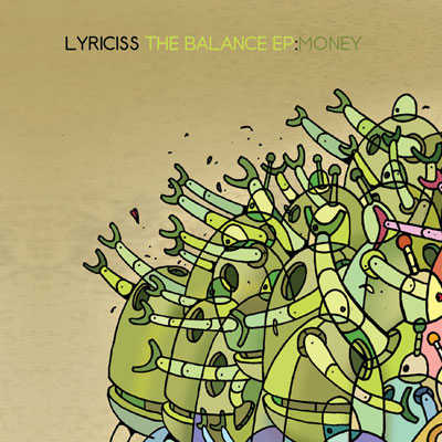 Lyriciss - The Balance EP: Money Cover