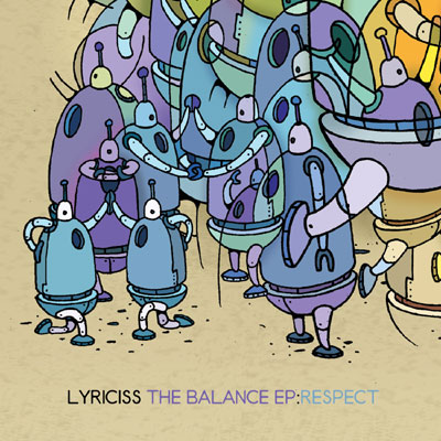 Lyriciss - The Balance EP: Respect Cover
