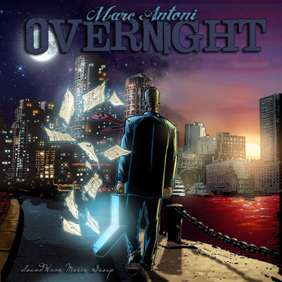 Marc Antoni - Overnight EP Album Cover