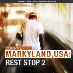 Journey to Markyland, USA: Rest Stop 2 Front Cover