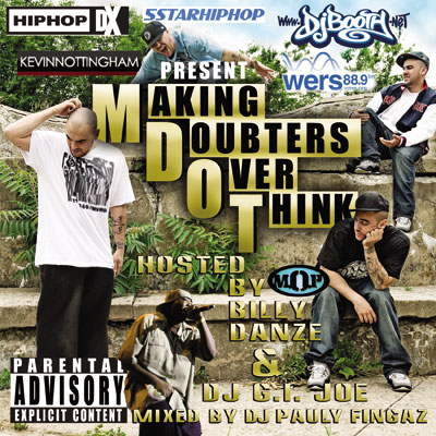 M-Dot - Making Doubters Over Think Cover