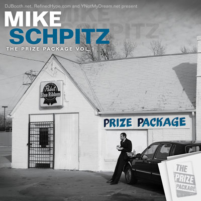 Mike Schpitz - The Prize Package (Volume 1) Cover