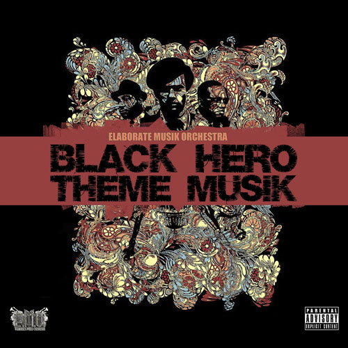 Black Hero Theme Musik Front Cover