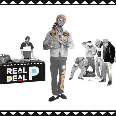 Real Deal P Front Cover