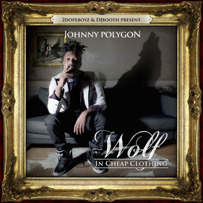 Johnny Polygon - Wolf in Cheap Clothing EP Cover