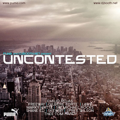 Uncontested EP Front Cover