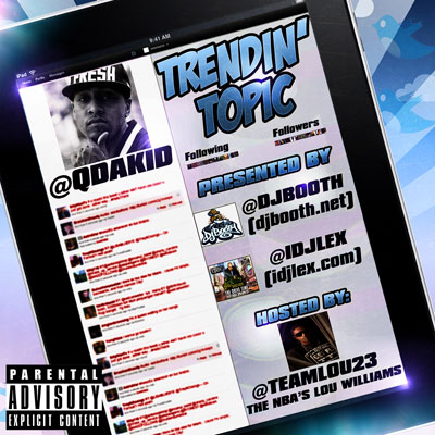 Q Da Kid - Trendin' Topic Album Cover