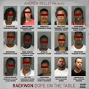 Andrew Kelley Presents: Raekwon - Dope on the Table Artwork