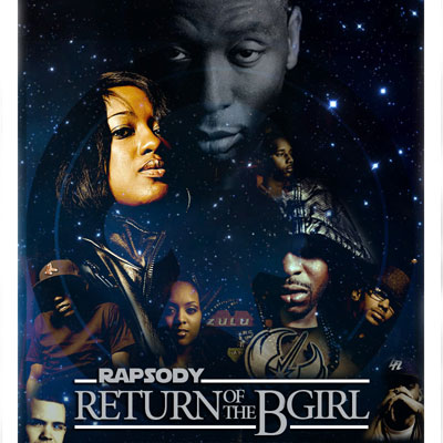 Rapsody - Return of the B-Girl Cover