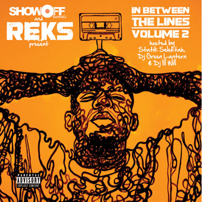 REKS - In Between the Lines, Volume 2 Cover