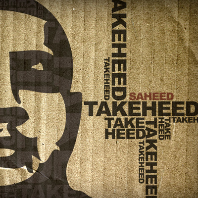 Saheed - Take Heed EP Cover