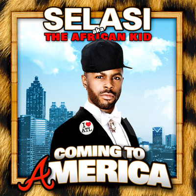 Selasi - Coming to America Album Cover