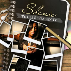 Shonie - Pieces Revealed EP Album Cover