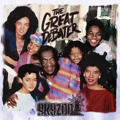 Skyzoo - The Great Debater Cover