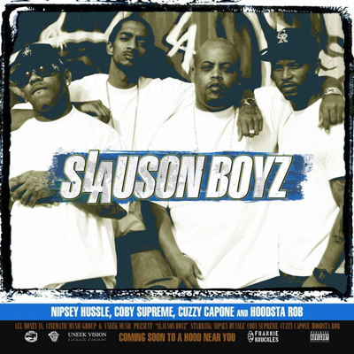 The Slauson Boyz - There Goes the Neighborhood (Vol. 1) Album Cover