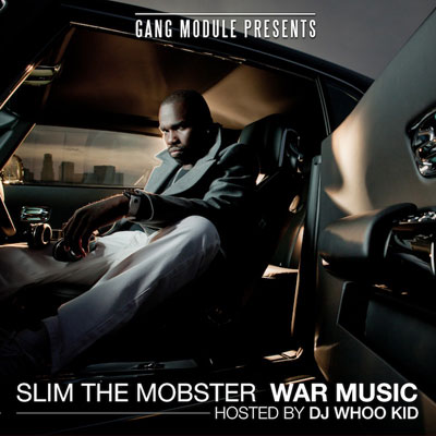 Slim the Mobster - War Music (No DJ) Cover