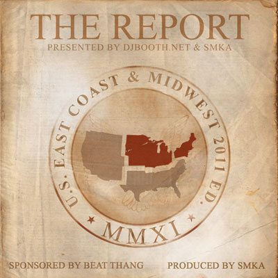 SMKA x DJBooth.net x Beat Thang - The Report Cover