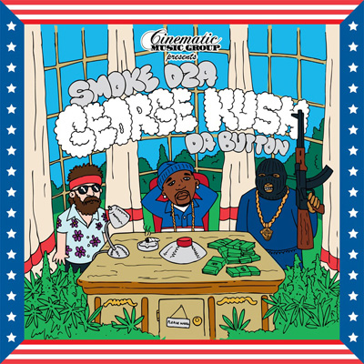 Smoke DZA - George Kush Da Button Cover